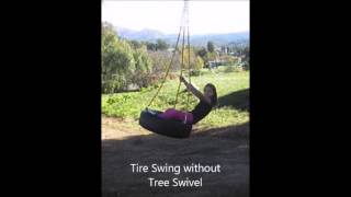 Tire Swing Without Tree Swivel