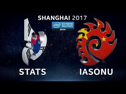 StarCraft II - Stats vs. iAsonu [PvZ] - Group B - IEM Shanghai 2017