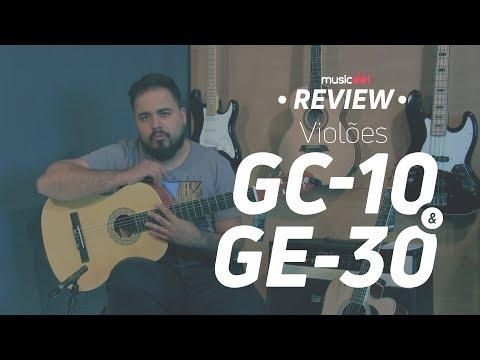 Violões Harmonics GC10 e GE30 | Review