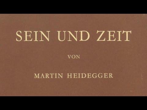 Heidegger: El ser y el tiempo, pt. 1