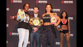 Claressa shields vs. Hanna Gabriels Weigh-in Results