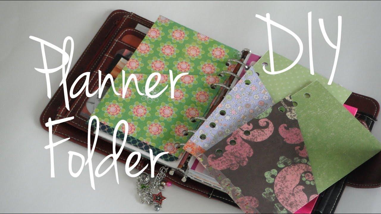 folder divider tutorial diy franklin covey compact