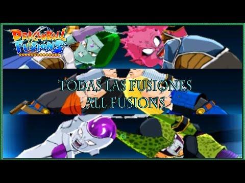 Dragon Ball Fusions | Todas las fusiones EX/All fusions EX | Beerus + Whis / Goku + Broly / ETC