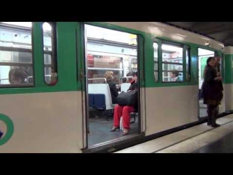 Paris Metro Subway System Metro de Paris