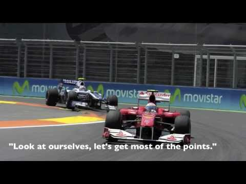 F1: Collection of Team Radio - Alonso 2010 (with subtitles)