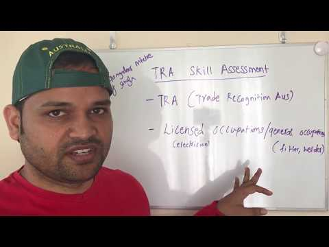 TRA skill assessment | Vetassess for Vocational trades for Australia Visa