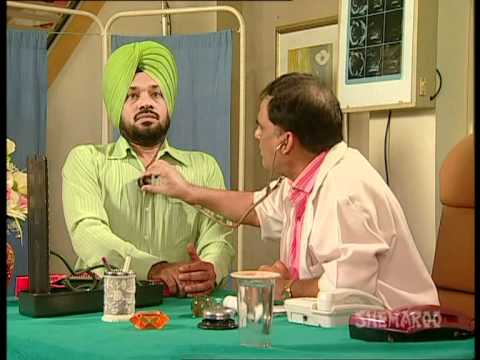 Ghuggi Suffers From Chest Pain – Meri Vahuti Da Viyah Comedy Clips