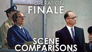 Operation Finale (2018) - scene comparisons