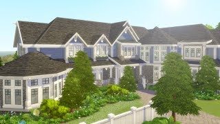 LAKEVIEW MANSION // The Sims 4: Speed Build