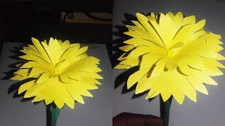 How to Make Easy Flower with Paper - Making Paper Flowers Step by Step