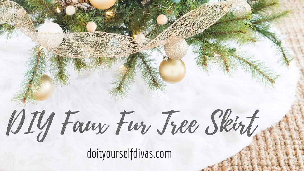 faux fur christmas tree skirt - Cheap Christmas Tree Skirts