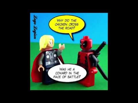 lego ll world comics   cheep jokes   featuring star wars dead pool and more   youtube