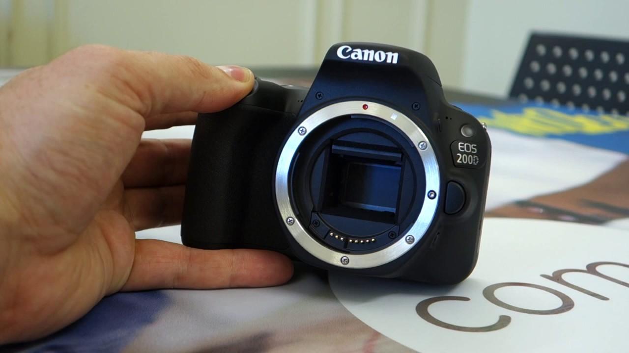 Canon EOS 200D Rebel SL2 Review | ePHOTOzine