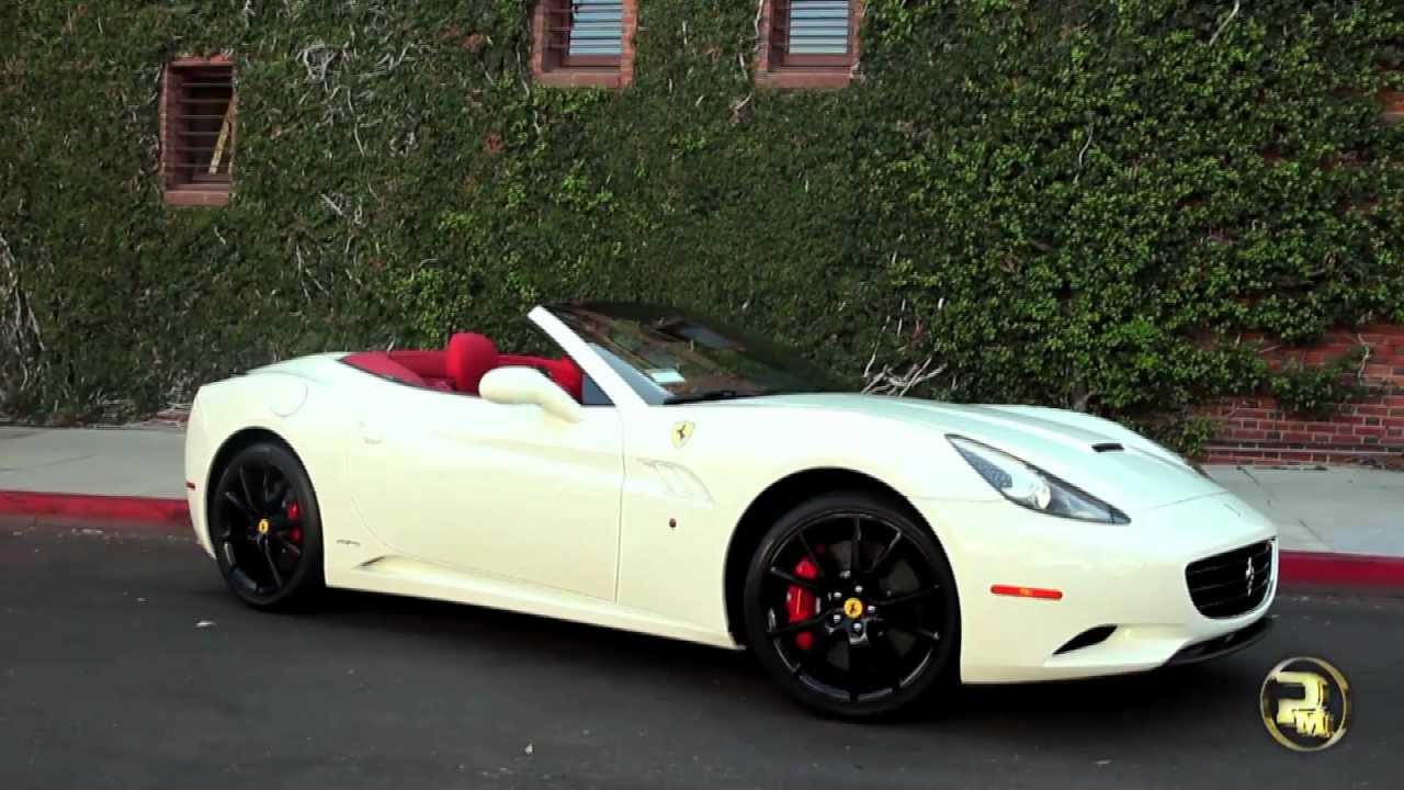 Ferrari F12 Interior >> FERRARI CALIFORNIA | WHITE - YouTube