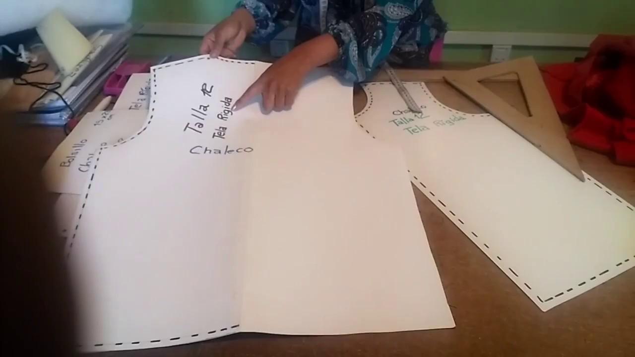 Como hacer un Chaleco Acolchado para Invierno 2da Parte - YouTube