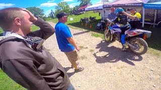 First Timer On BRAND NEW YZ250 2-STROKE...