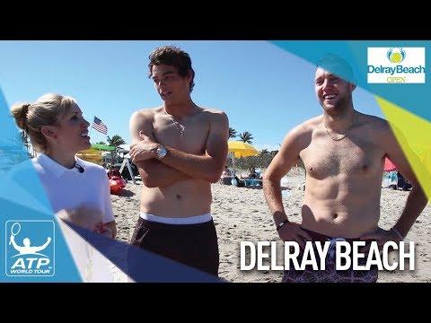 Who Won The 2018 Delray Beach Open Beach Games?