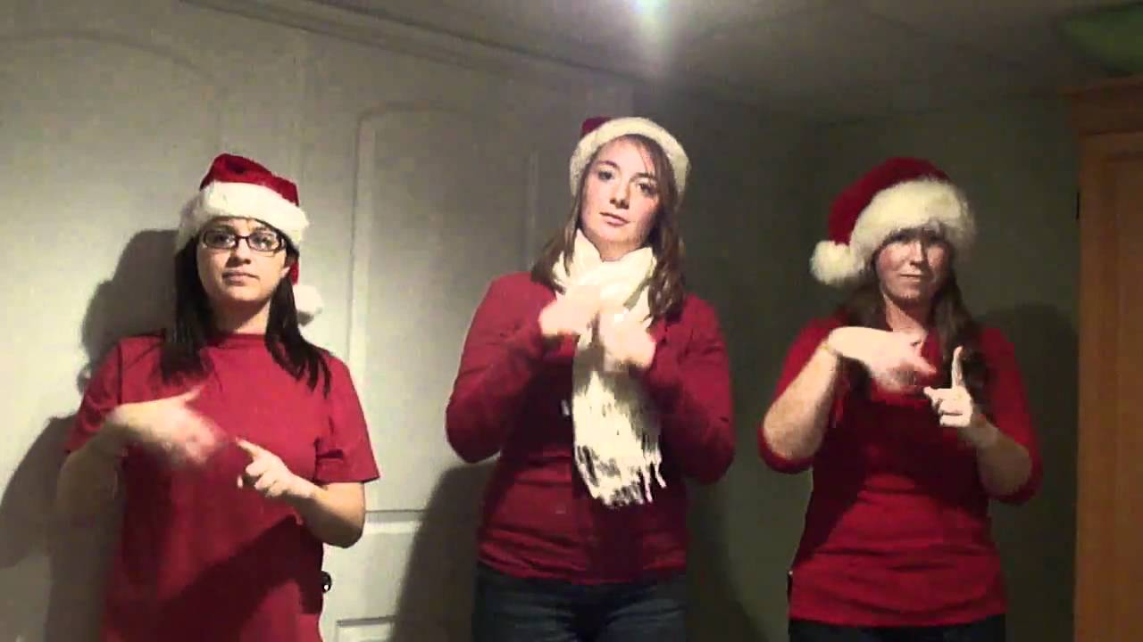 NSYNC\'s Merry Christmas Happy Holidays in ASL - YouTube