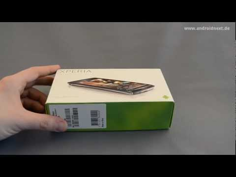Sony Ericsson Xperia arc S Unboxing - androidnext.de