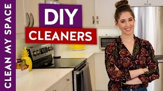 The 5 most TOXIC cleaners in your home and safe DIY alternatives!
