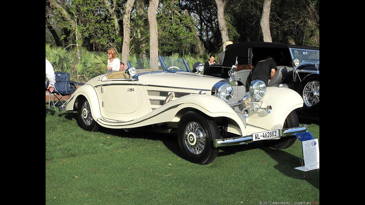 1935 Mercedes Benz 500k Special Roadster Gopro Youtube