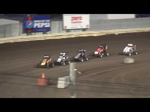 IMRA Illinois Midget Racing Association Heat 2 Pepsi Lee County Speedway 9/14/19