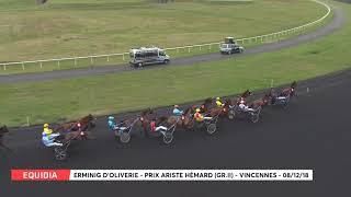 Vidéo de la course PMU PRIX ARISTE HEMARD