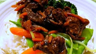 Sweet & sour beef recipe