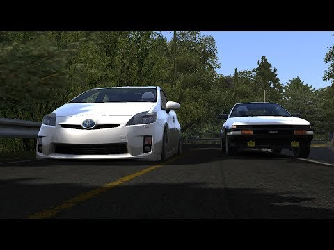 The Little Prius That Could - Prius Vs Ae86 Assetto Corsa