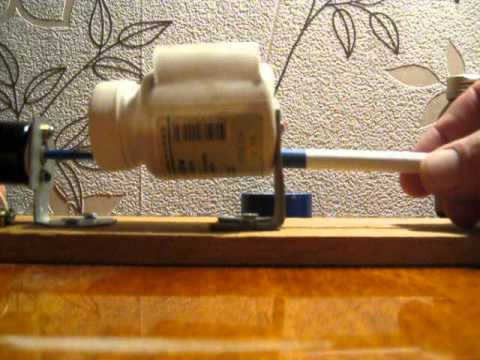 Машинка для набивания табачных гильз - YouTube