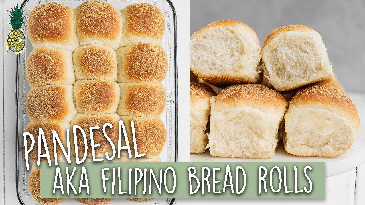 Vegan Pandesal aka Filipino Bread Rolls - SO FLUFFY!