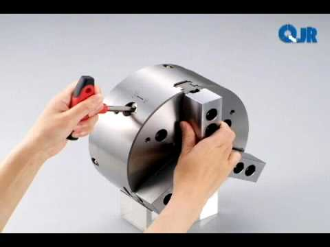 How a Kitagawa QJR Power Chuck operates - YouTube