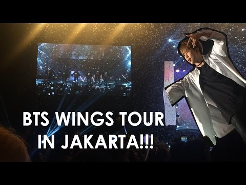 290417 BTS Wings Tour in Jakarta FANCAM + Experience VLOG
