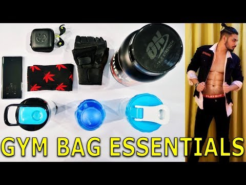 Gym Essentials That Every Guy Should Have In His Gym Bag | My Gym Bag | Asad Ansari