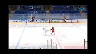 Балет на льду La Skadi Ход королевы Второй Всероссийский Фестиваль танцев на льду Ледяной 2021