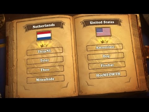Netherlands vs. United States - Group B - Match 2 - 2017 Hearthstone Global Games  - Week 2