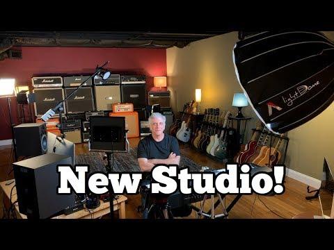 My New Video Production Studio Tour!