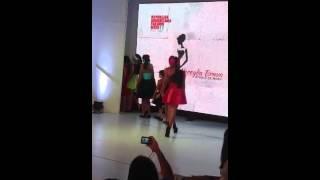 Geyce Michelle Corniel Paredes en Fashion Week Puerto Plata, República Dominicana 2013