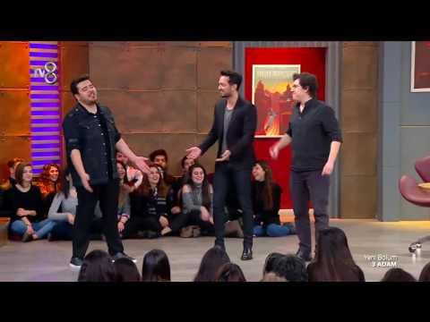 Eser, İbrahim ve Murat Boz'dan Backstreet Boys Dansı    3 Adam