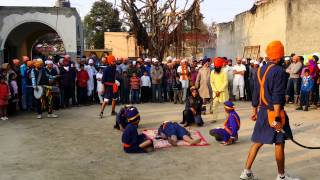Latest vedio Guru de sikh  Gatkha khed de hoye