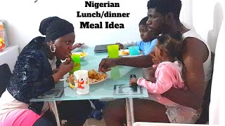 Shop, Cook & Eat with Us | Nigerian Lunch and Dinner Idea.