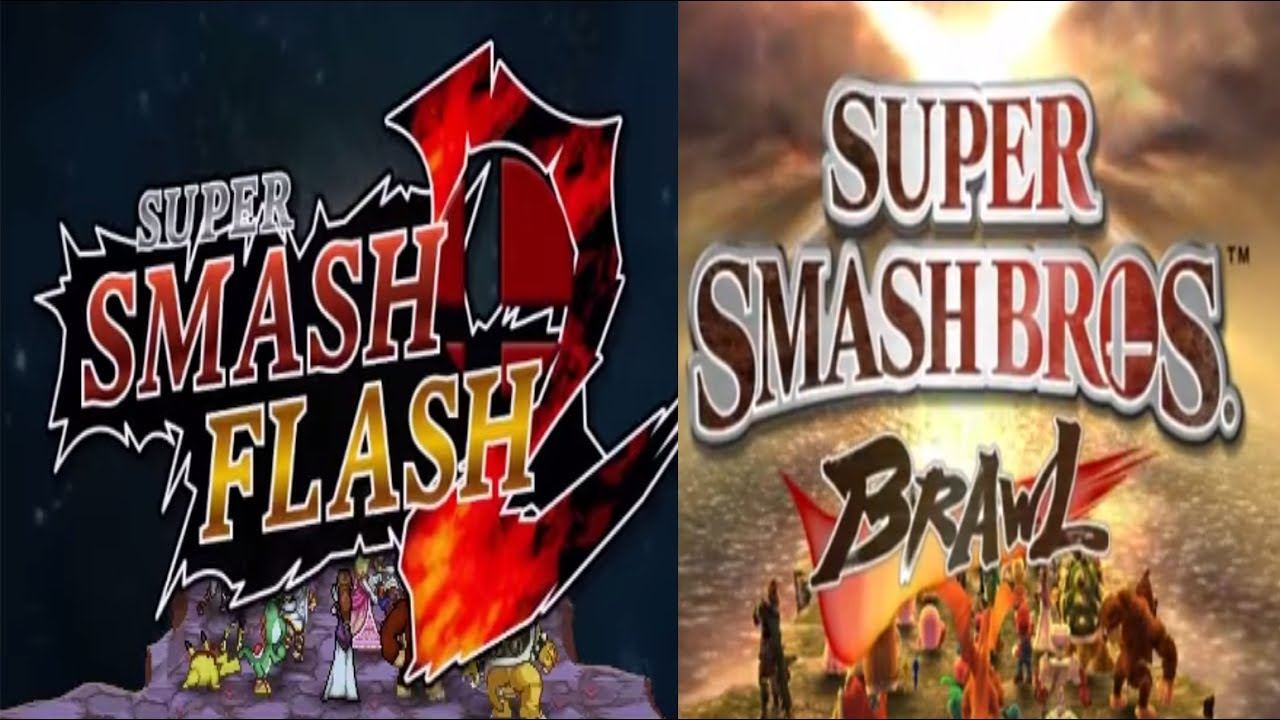 ssf2 beta vs brawl opening youtube