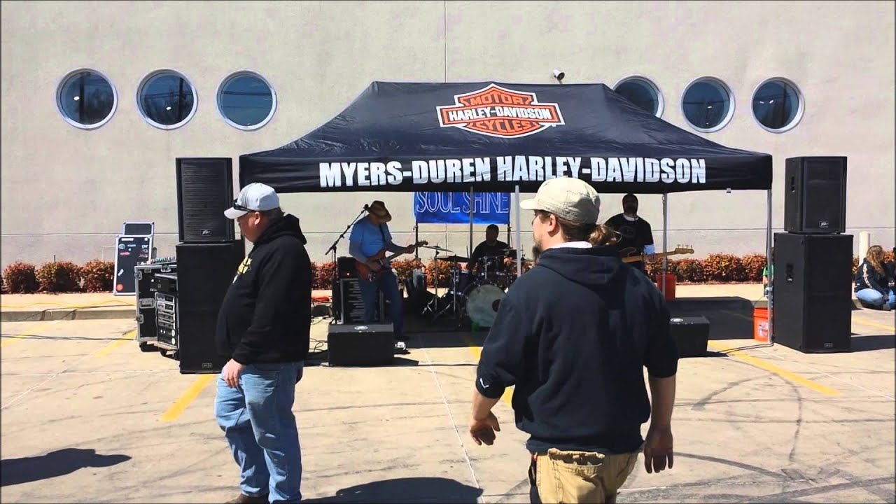 Soul Shine Performing At Myers Duren Harley Davidson In Tulsa Ok