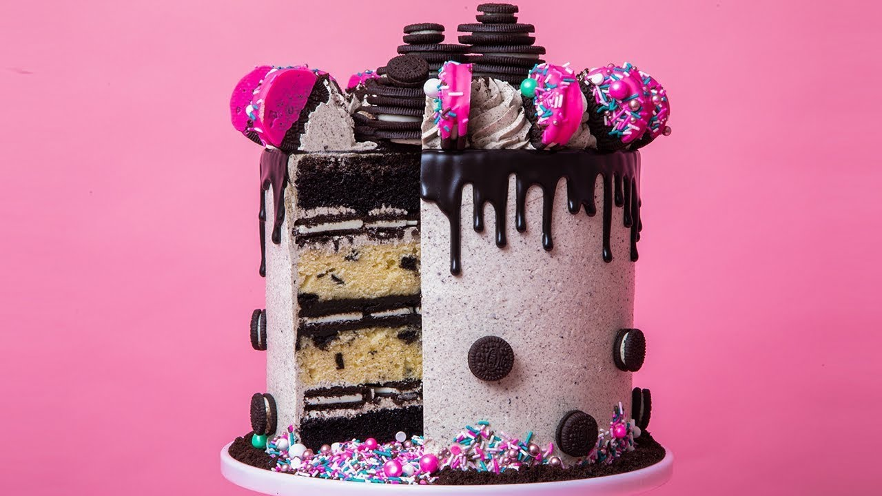The ULTIMATE Cookies and Cream Cake! | How To Cake It with Yolanda Gampp