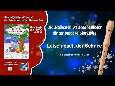 ♬-leise-rieselt-der-schnee-☆-barocke-blockflöte-☆-weihnachtslieder-☆