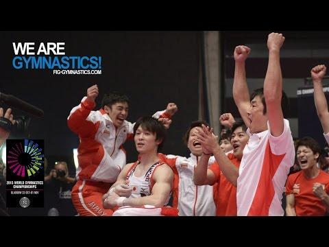 2015 Artistic Worlds - Men's Team Final, Highlights  - We are Gymnastics !