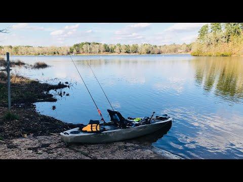 Multi Species Kayak Fishing On Lake Hawkins
