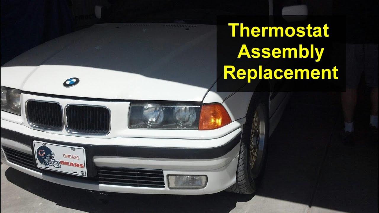 Thermostat Replacement Coolant System Flush Bmw 318i E36 Votd 1996 328is Engine Diagram