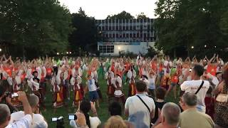 """Summer best fest 2017""  Танцевальный флешмоб, Албена, Болгария"