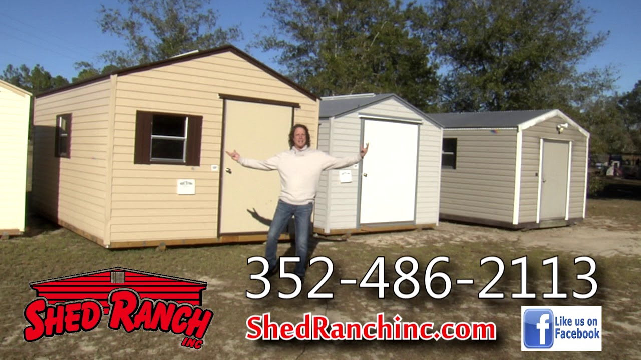 Shed Ranch Inc  | Storage Sheds Gainesville, FL | Steel